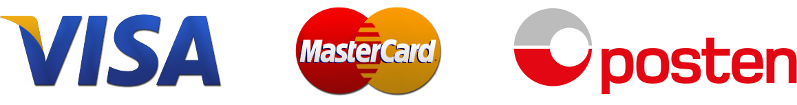 VISA - MasterCard - Posten
