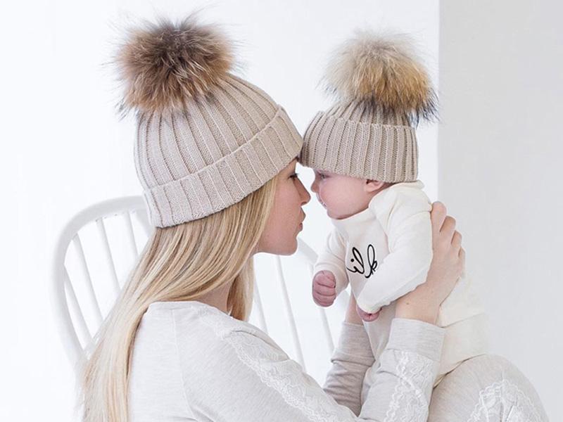 Mor og barn luer